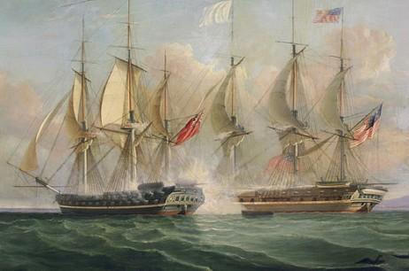 Dueling Frigates